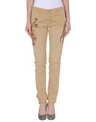 Magazzini Del Sale Casual Pants Beige