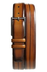 Mezlan Palma Leather Belt Honey