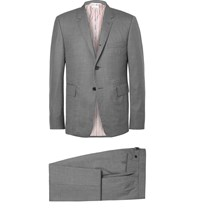 Thom Browne Grey Wool Suit Gray