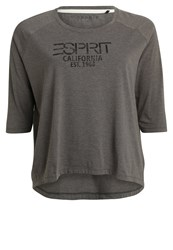 Esprit Sports Print Tshirt Dark Grey
