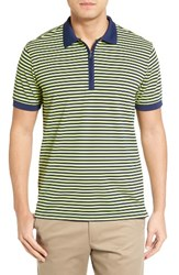 Bobby Jones Men's Tech Stripe Pique Polo