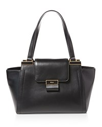Ralph Lauren Medium Lynwood Shopper Tote Black