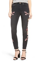 One Teaspoon Women's Birds Of Paradise Scallywags Embellished Skinny Jeans