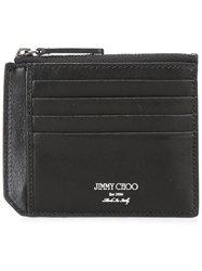 Jimmy Choo Belmont Wallet Black