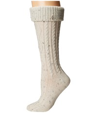 Ugg Shaye Tall Rain Boot Socks Cream Women's Knee High Socks Shoes Beige