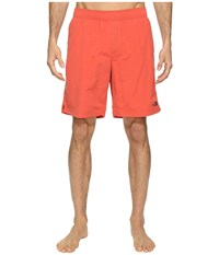 The North Face Class V Pull On Trunk Long Sunbaked Red Men's Swimwear
