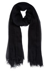 American Vintage Scarf Noir Anthracite