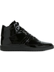 Christian Dior Dior Homme Classic Hi Top Sneakers Black
