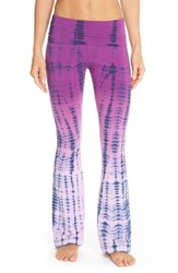 Women's Hard Tail Tie Dye Flare Leg Pants