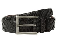Torino Leather Co. 35Mm Italian Layered Diamond Calf Black Belts