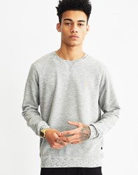 Farah Jared Marl Sweatshirt Light Grey