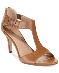 Style And Co. Sachii Dress Sandals Women's Shoes Whiskey