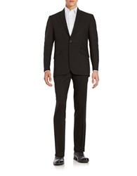 Kenneth Cole Reaction Two Button Suit Black