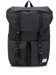Herschel Supply Co. Buckingham Delta Logo Patch Backpack Black