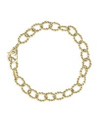 Lagos Medium 18K Gold Caviar Fluted Link Bracelet