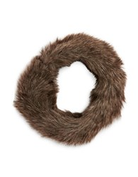 Parkhurst Faux Fur Headband Brown