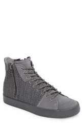 Creative Recreation Carda Hi Sneaker Smoke Leather