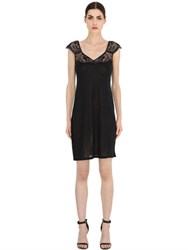 La Perla Begonia Lace And Modal Night Gown