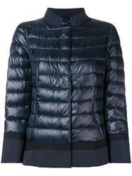 Herno Feather Down Padded Jacket Blue