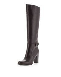 Sesto Meucci Dolly Buckled Knee Boot Black