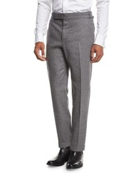 Tom Ford O'connor Flannel Dress Pants Light Gray