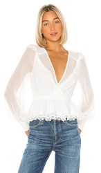 X By Nbd Diana Top In White.