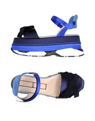 Ndegree 21 Sandals Dark Blue