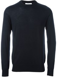 Givenchy Knitted Sweater Blue