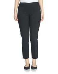 Chaus Courtney Ankle Length Side Zip Pants Black