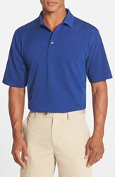 Men's Cutter And Buck 'Championship' Classic Fit Drytec Golf Polo Tour Blue