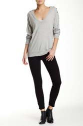 Genetic Denim Daphne Skinny Crop Pant Black