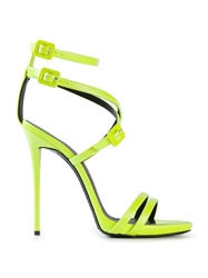 Giuseppe Zanotti Design Strappy Sandals Yellow And Orange