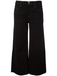 J Brand 'Cropped Over' Jeans Black