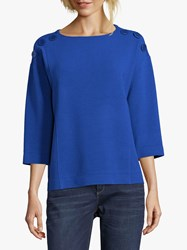 Betty Barclay Button Trimmed Top Adria