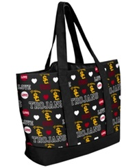 Forever Collectibles Usc Trojans Tote Bag Maroon