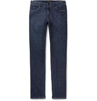 Brioni Meribel Slim Fit Stretch Denim Jeans Dark Denim
