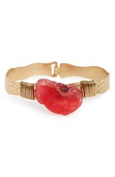 Women's Panacea Agate Bangle Fuchsia