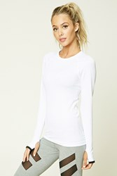 Forever 21 Active Seamless Ribbed Top