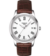 Tissot T033.410.16.013.01 Classic Dream Leather Watch Stainless Steel