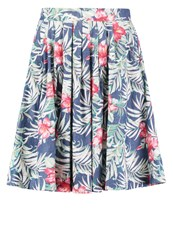 Louche Furie Tropical Pleated Skirt Multi Multicoloured