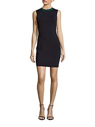 Rag And Bone Lucine Crewneck Sheath Dress Teal