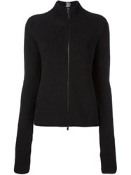 Diesel Black Gold Zipped Cardigan Black