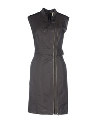 Band Of Outsiders Short Dresses Grey