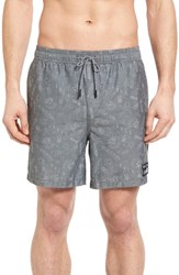 Rvca Men's Sea And Destroy Swim Trunks