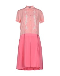 Moschino Cheap And Chic Moschino Cheapandchic Dresses Knee Length Dresses Women Pink
