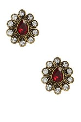 Amrita Singh Gayatri Stud Earrings Red
