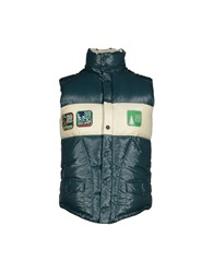 The Royal Pine Club Down Jackets Dark Green