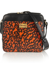 Mcq By Alexander Mcqueen Printed Lizard Effect And Smooth Leather Shoulder Bag