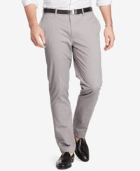 Polo Ralph Lauren Men's Big And Tall Classic Fit Stretch Chino Pants Gray
