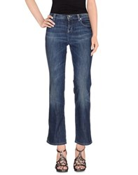 Moschino Jeans Denim Denim Trousers Women